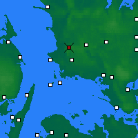 Nearby Forecast Locations - Slagelse - Map