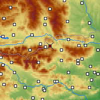 Nearby Forecast Locations - Prevalje - Map