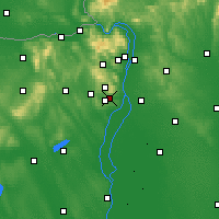 Nearby Forecast Locations - Budaörs - Map