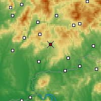 Nearby Forecast Locations - Krupina - Map