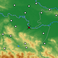 Nearby Forecast Locations - Brčko - Map