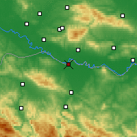 Nearby Forecast Locations - Gradiška - Map