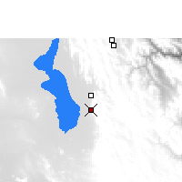 Nearby Forecast Locations - Santiago de Huari - Map