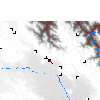Nearby Forecast Locations - Lahuachaca - Map