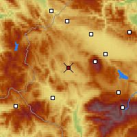 Nearby Forecast Locations - Radomir - Map
