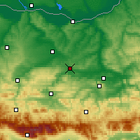 Nearby Forecast Locations - Pavlikeni - Map