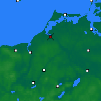 Nearby Forecast Locations - Ribnitz-Damgarten - Map