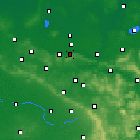 Nearby Forecast Locations - Lübbecke - Map