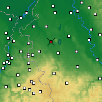 Nearby Forecast Locations - Jülich - Map