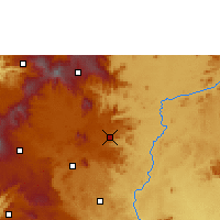 Nearby Forecast Locations - Foumban - Map