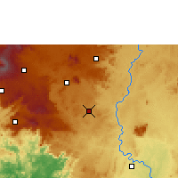 Nearby Forecast Locations - Bangangté - Map