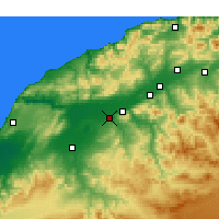 Nearby Forecast Locations - Djidioua - Map