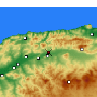 Nearby Forecast Locations - El Abadia - Map