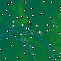 Nearby Forecast Locations - Doesburg - Map