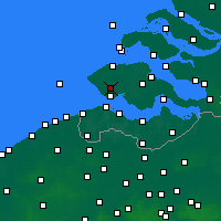 Nearby Forecast Locations - Middelburg - Map