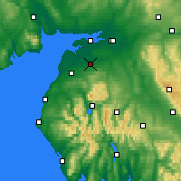 Nearby Forecast Locations - Wigton - Map
