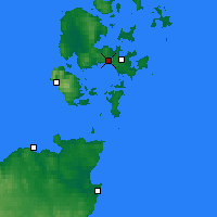 Nearby Forecast Locations - Orkney - Map