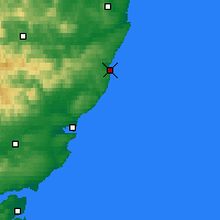 Nearby Forecast Locations - Stonehaven - Map