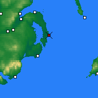 Nearby Forecast Locations - Portavogie - Map