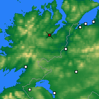 Nearby Forecast Locations - Letterkenny - Map