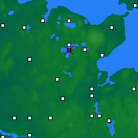 Nearby Forecast Locations - Großer Plöner See - Map