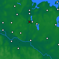 Nearby Forecast Locations - Ratzeburger See - Map