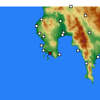 Nearby Forecast Locations - Foinikounta - Map