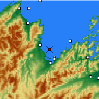 Nearby Forecast Locations - Tasman Bay - Map