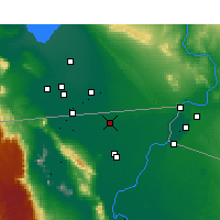 Nearby Forecast Locations - Mexicali - Map
