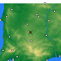 Nearby Forecast Locations - Castro Verde - Map