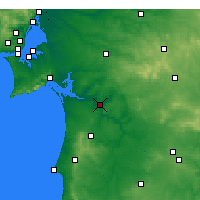 Nearby Forecast Locations - Alcácer do Sal - Map