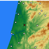 Nearby Forecast Locations - Mealhada - Map