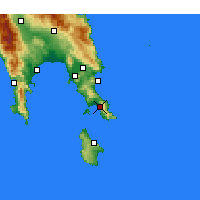 Nearby Forecast Locations - Neapoli - Map