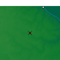 Nearby Forecast Locations - Pergamino - Map