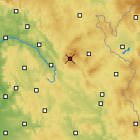 Nearby Forecast Locations - Warmensteinach - Map