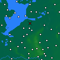 Nearby Forecast Locations - Dronten - Map