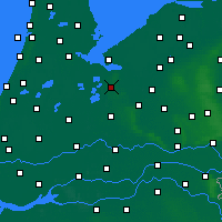 Nearby Forecast Locations - Hilversum - Map
