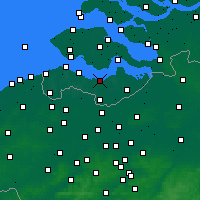 Nearby Forecast Locations - Terneuzen - Map