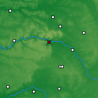 Nearby Forecast Locations - Épernay - Map