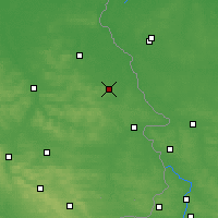 Nearby Forecast Locations - Stanisławów - Map