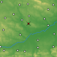 Nearby Forecast Locations - Busko-Zdrój - Map