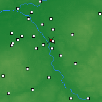 Nearby Forecast Locations - Józefów - Map