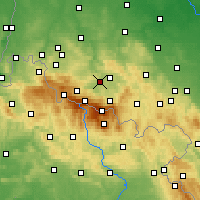 Nearby Forecast Locations - Podgórzyn - Map