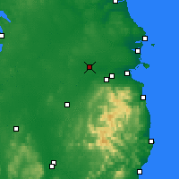 Nearby Forecast Locations - Maynooth - Map