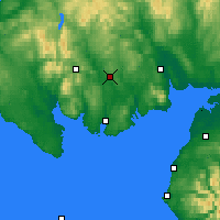 Nearby Forecast Locations - Loch Ken - Map