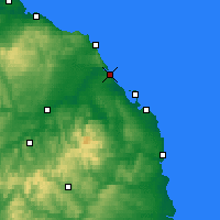 Nearby Forecast Locations - Berwick-upon-Tweed - Map