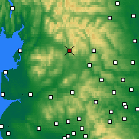 Nearby Forecast Locations - Settle - Map