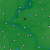 Nearby Forecast Locations - Chełmża - Map