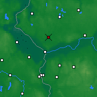 Nearby Forecast Locations - Dębno - Map