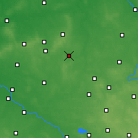 Nearby Forecast Locations - Kępno - Map